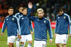 lionel messi unfit to play against venezuela