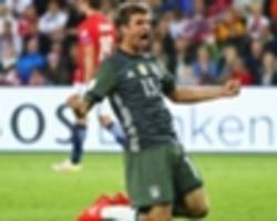 norway 0-3 germany: muller stars for world cup holders in easy win