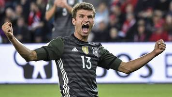 muller scores twice in germany win - world cup round-up