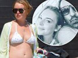 lindsay lohan getting 'very serious' with new man dennis papageorgiou