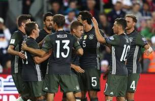 germany start bid to retain world cup crown with a big win
