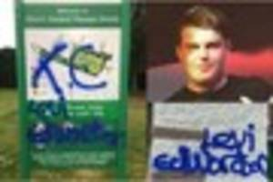 bullies target exeter college student, 17, with bizarre graffiti...