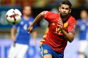 diego costa heads a brace for spain, data drop ensues (video)