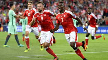 world cup qualifying: euro champ portugal falls to swiss; belarus holds france