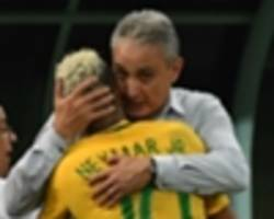tite pleased with brazil's 'evolution'