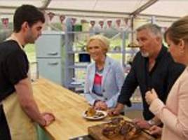 from hero to (very nearly) zero! bake off's glamorous pe teacher narrowly survives the 'curse of the star baker' after an emotional brioche breakdown