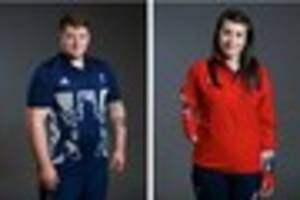 hollie arnold and jack hodgson ready for rio 2016 paralympic...