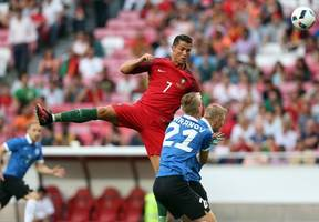 no ronaldo, no goals: in absence of real madrid star, portugal beaten by switzerland