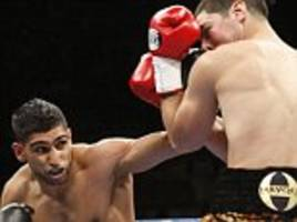 amir khan wants rematch with danny garcia for comeback fight instead of facing kell brook