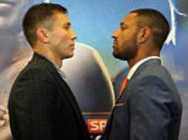 kell brook eager 'to shock the world' in title bout with gennady golovkin