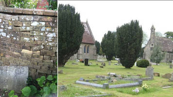 blandford cemetery wall and chapels win listed status
