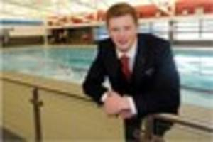 adam peaty has his sights set on i'm a celebrity ... get me out...