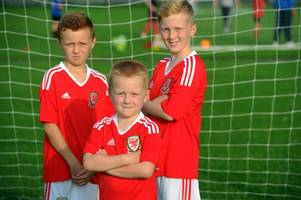 are these three cardiff brothers the wales football team's lucky charms?