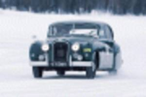 jaguar-land rover to offer classic car ice driving school
