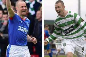 kenny miller's old firm goals and incredible derby story as he aims to notch no.10