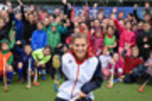 georgie twigg comes home to lincoln  where her olympic gold dream...