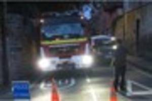 fire engine blocked by 'illegally parked car' for 80 minutes en...