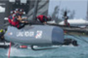 cambridge news published land rover bar america's cup team to get a helping hand from...