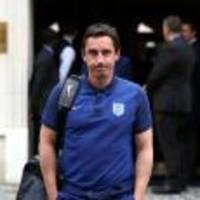 gary neville says he was 'chucked overboard' by england after euro 2016