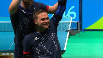 rio 2016 paralympics: delight for rob davies in c1 table tennis final