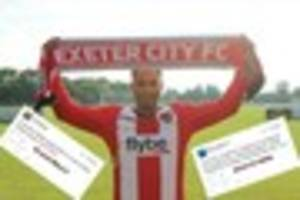 exeter city and plymouth argyle fans react as reuben reid joins...