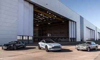 aston martin hiring for dbx crossover-making st athan factory