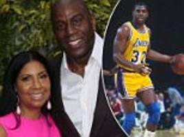how basketball superstar magic johnson locked himself in the bathroom to call his previous flings after telling his wife cookie he had hiv