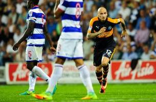 newcastle united continue to win and shelvey to score