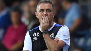 owen coyle: blackburn boss takes blame for poor championship start