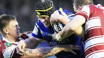 super league: warrington wolves v wigan warriors