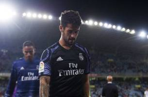 isco reportedly upset at real madrid; tottenham interested