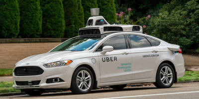 watch uber's high-tech cabs drive themselves in pittsburgh