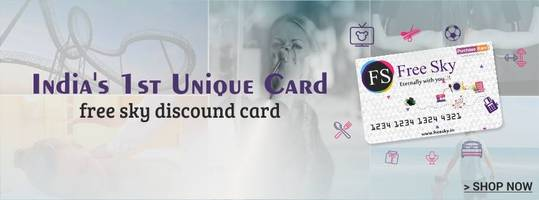 Freesky Discount Card - A New Initiative by Purchasekaro Offers Discounts on Everything from Online Ecommerce to Local Stores