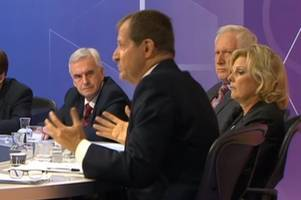 john mcdonnell and alastair campbell 'almost come to blows' after fiery question time filming