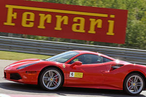 getting humbled at an elite driving school just for ferrari owners