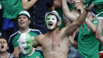euro 2016: northern ireland and republic of ireland fans to get uefa honour
