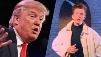 media furious: we all got rick-rolled by trump