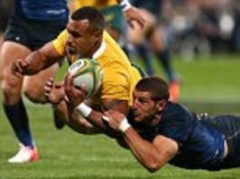 Australia 36-20 Argentina: Wallabies end Pumas' Rugby Championship hopes and hand New Zealand the title