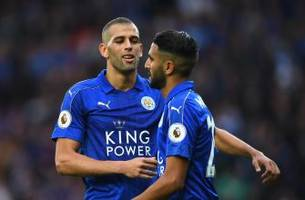 leicester city 3 - 0 burnley: player ratings - slimani steals the show