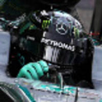 lizard in the limelight as rosberg laps fastest