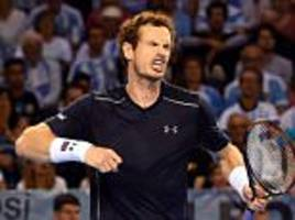 andy murray vs guido pella, davis cup live: follow the action as world no 2 hopes to keep great britain's semi-final clash with argentina alive