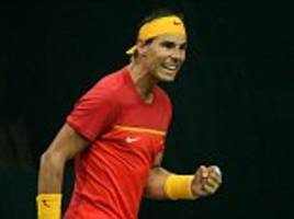 rafa nadal hails spain's return to rightful place in davis cup world group after win over india