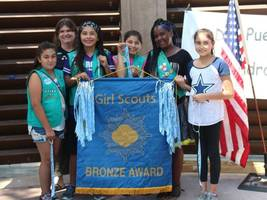 san leandro girl scouts receive awards