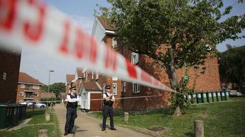 two men arrested over double shooting in east finchley