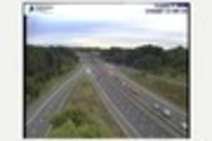 Police appeal for witnesses to the crash that shut the M1 in...