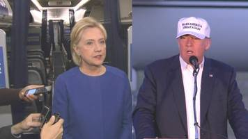 New York City: Hillary Clinton and Donald Trump react to explosion