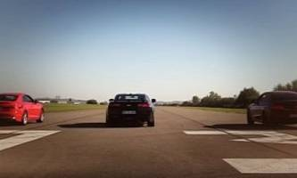 2016 camaro ss roasts mercedes-amg c43 coupe, 2017 audi s5 coupe in drag race