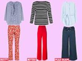 Style me slimmer: Statement trousers to flatter you, whatever your shape