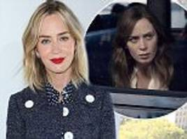 emily blunt wore makeup to appear less attractive for role in girl on the train