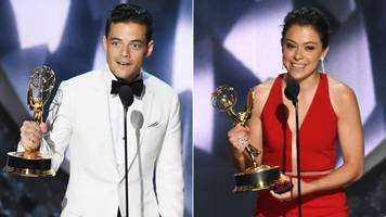 The 68th Emmy Awards in a minute